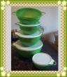 Kit Criativas Verdes + Escorredor Importado
