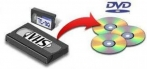 Conversão de fita de video casete para dvd