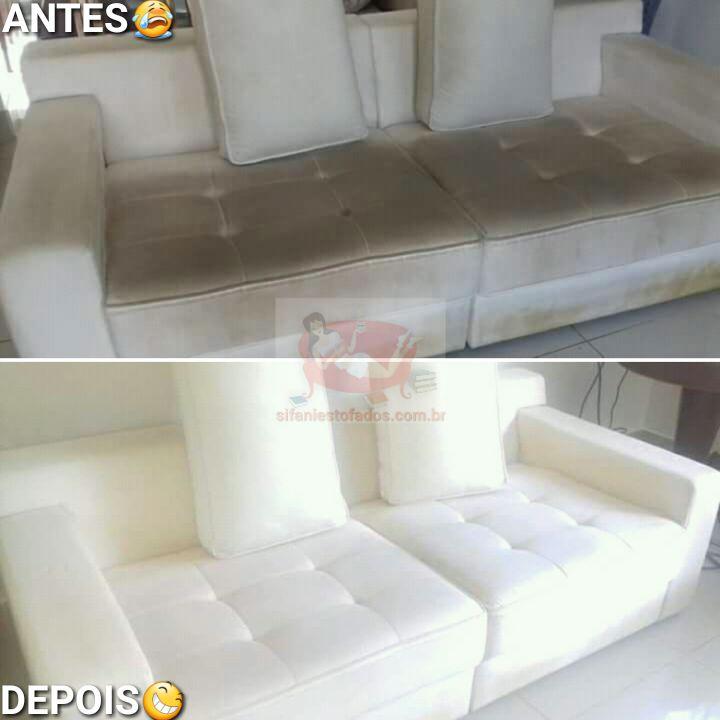 Lavagem de sofa a seco, Limpeza de sofa, Higienização de estofados