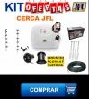 Kit Cerca eletrica tamanho 12/30
