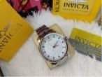 Relógio Invicta Yakusa Prata S1 100% A Prova D'água Promoção