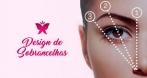 Designer de sobrancelhas com aplicação de henna