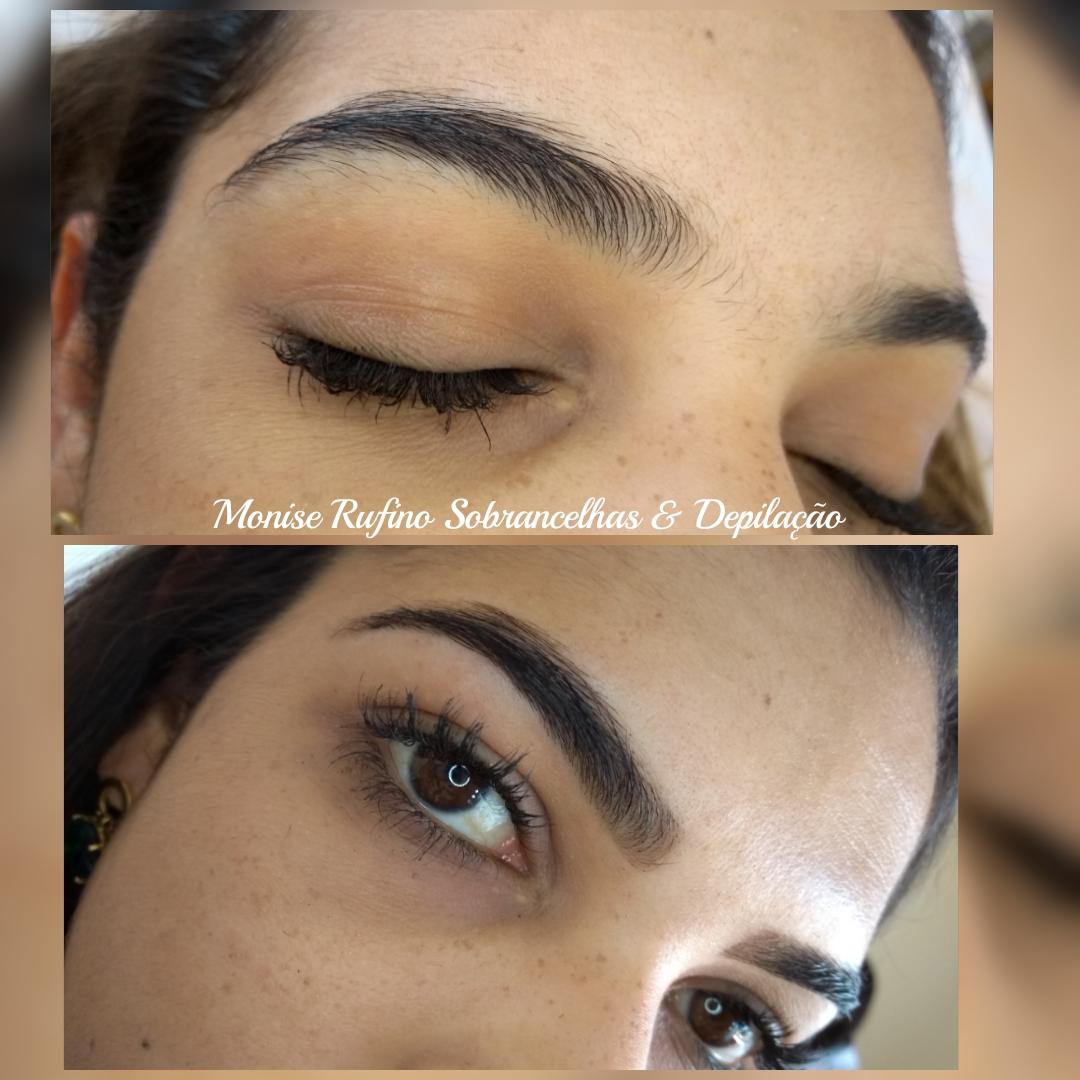 Design de sobrancelhas + Henna