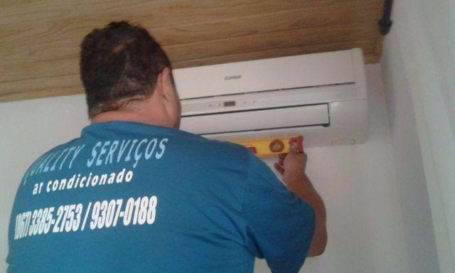 INSTALAÇÃO DE AR CONDICIONADO SPLIT EM PROMOÇÃO*EMPRESA QUALITY SERVIÇOS