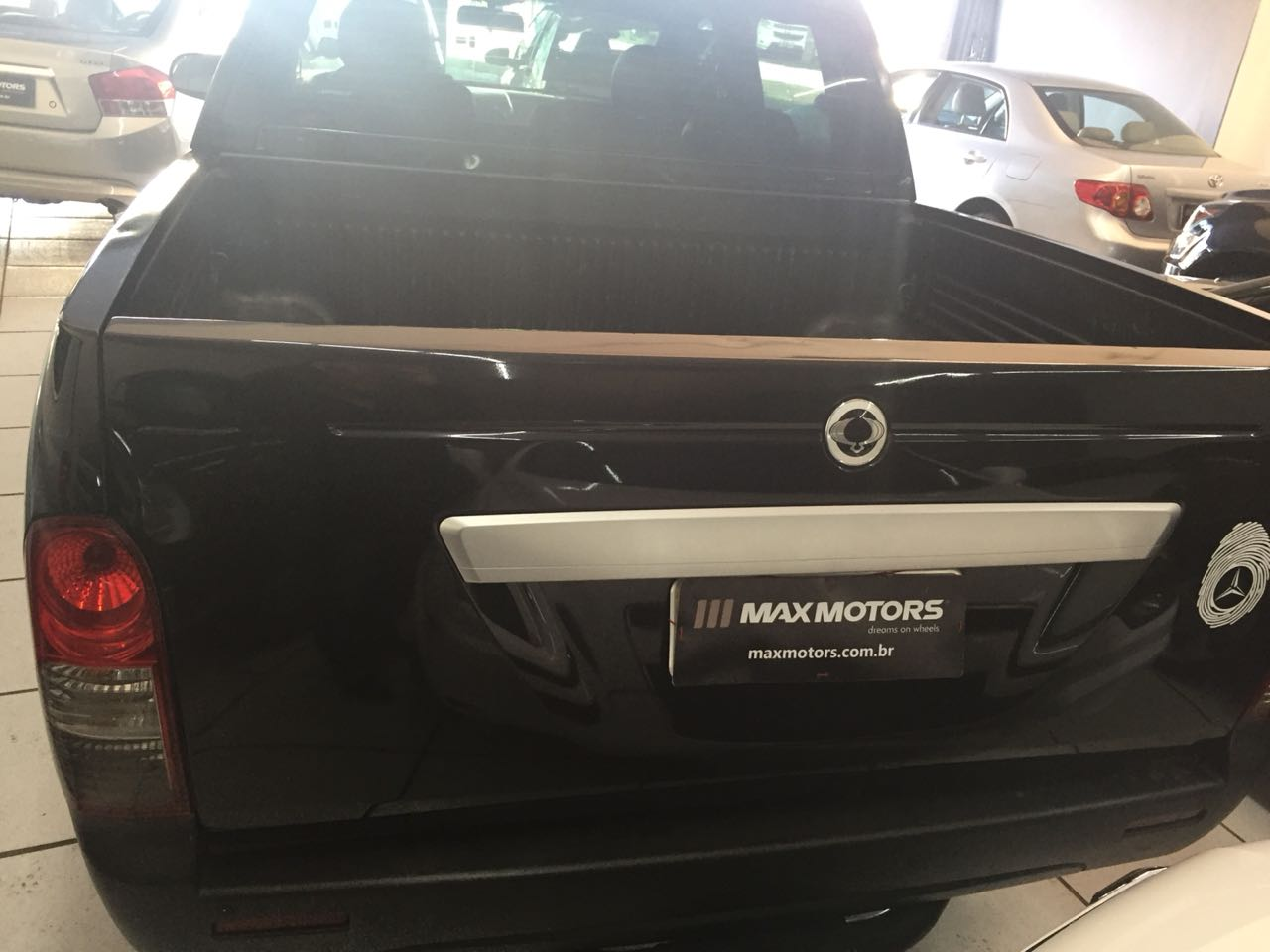 SSANGYONG ACTYON SPORTS - 2010 / 2010 2.0 GL 4X4 CD 16V TURBO INTERCOOLER DIESEL 4P AUTOMÁTICO
