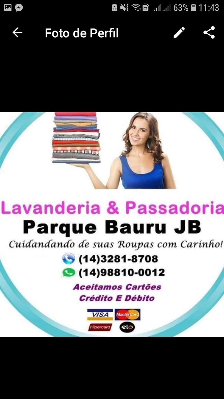 Lavanderia E Passadoria Parque Bauru JB
