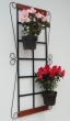 Floreira vertical de ferro