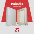 Painel para pintura 18x24 - Pacote com 10 unidades