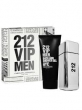 Kit 212 Vip Men Carolina Herrera EDT 100 ml + Bath and Shower Gel 100 ml