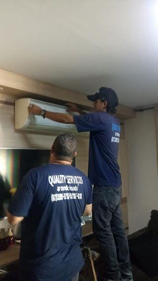 Instalação e manutenção de ar condicionado split em PROMOÇÃO !