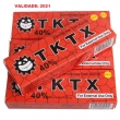 KIT COM 2 POMADAS TKTX (((40%))) VERMELHA_COM SELO DE AUTENTICIDADE _PRONTA ENTREGA!!!