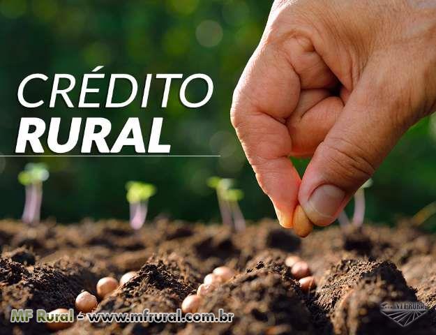 Crédito disponível para Maquinário