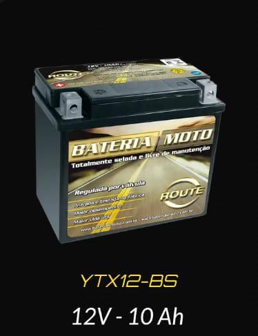 Bateria Route - 6 meses de garantia Entrega em bauru/Sp e região