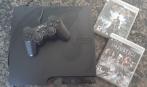 Vendo- Playstation 3 - 160Gb - com 2 jogos
