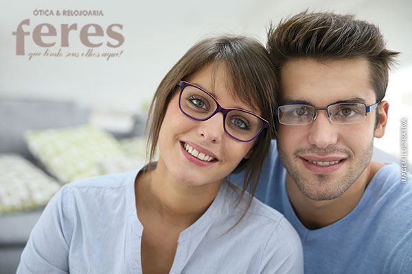 74% OFF em Armação para Óculos de Grau na Ótica Feres, de 198,00 por apenas 49,90.