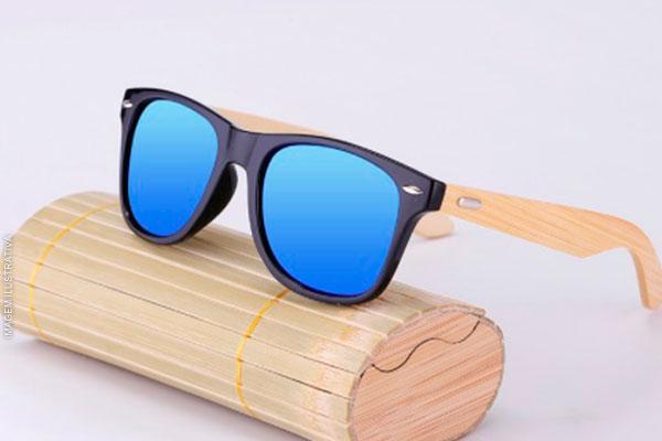 Óculos de Madeira (4 Opções de Cor), por apenas 55,90. Frete grátis para todo o Brasil!