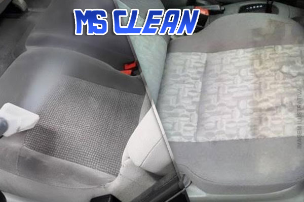 Seu Carro Impecável por Dentro!!! Limpeza de Banco à Seco (Para Bancos de Tecido) com a MS Clean por apenas 69,90.