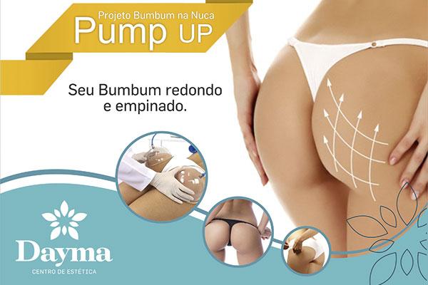Método ´Empina Bumbum`! Sessão de Pump up + Endermo + Corrente Aussie na Dayma, por apenas 29,90.