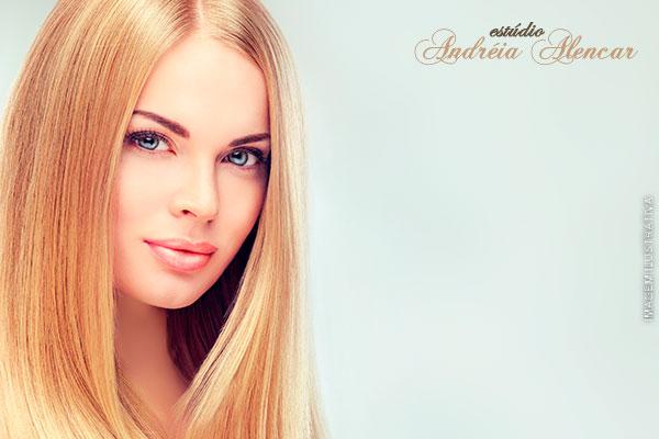 Rejuvenesça seus cabelos! Botox Capilar no Estúdio Andreia Alencar, de 140,00 por apenas 29,90.