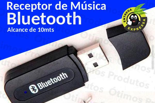 Receptor de Música USB Bluetooth, por apenas 39,90. Frete Incluso para todo o Brasil!
